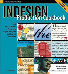 InDesign Productions Cookbook