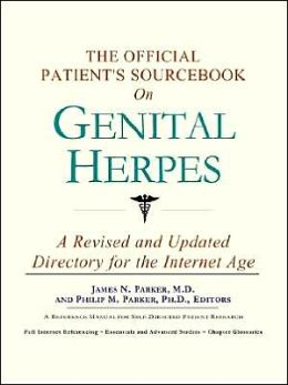 The Official Patient's SourceBook on Genital Herpes
