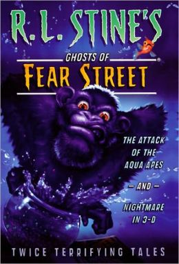 The Attack of the Aqua Apes; Nightmare in 3-D (Turtleback School & Library Binding Edition)