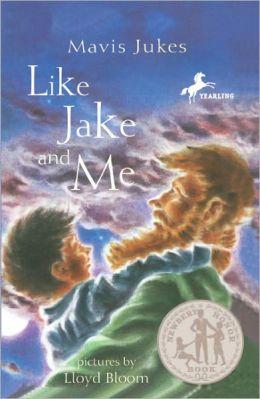 Like Jake And Me (Turtleback School & Library Binding Edition)