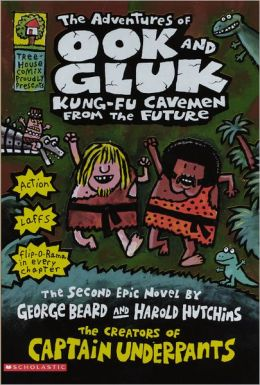 The Adventures of Ook and Gluk, Kung-Fu Cavemen from the Future (Turtleback School & Library Binding Edition)