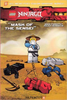Mask of the Sensei (LEGO Ninjago Series #2) (Turtleback School & Library Binding Edition)