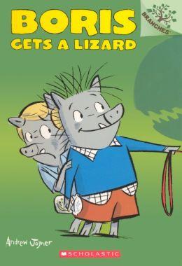 Boris Gets a Lizard (Turtleback School & Library Binding Edition)