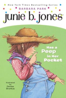 Junie B. Jones Has a Peep in Her Pocket (Junie B. Jones Series #15) (Turtleback School & Library Binding Edition)
