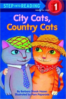 City Cats, Country Cats (Road to Reading Series: Mile 1)