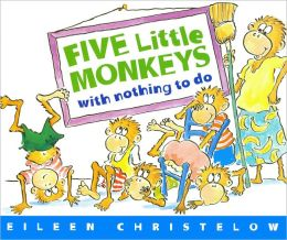 Five Little Monkeys With Nothing To Do (Turtleback School & Library Binding Edition)