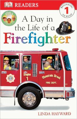 A Day In The Life Of A Firefighter (Turtleback School & Library Binding Edition)