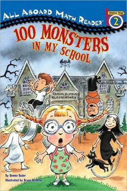 100 Monsters in My School (Turtleback School & Library Binding Edition)
