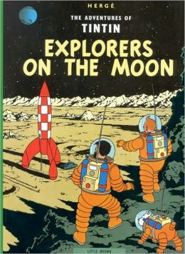 Tintin Explorers on the Moon