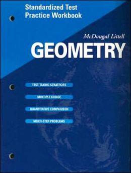 McDougal Littell High School Math: Standardized Test Practice Workbook (Student) Geometry