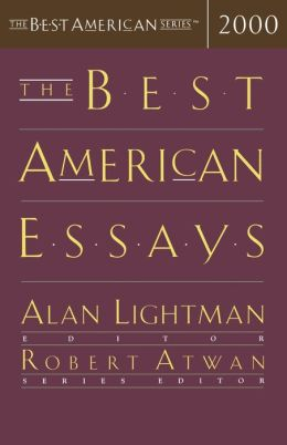 best american essays 2000 The bonds of battle - the best american essays 2016 - includes alexander chee, paul crenshaw, jaquira díaz, laura kipnis, amitava kumar and according to statistics published in the journal of consulting and clinical psychology in 2000, if you have an educational deficit, if you are female, if you have.