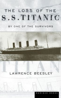 Loss Of The Ss Titanic Pa