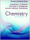 Student Solutions Guide for Zumdahl/Zumdahl's Chemistry, 6th