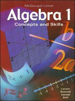McDougal Littell Concepts & Skills: Student Edition 2004