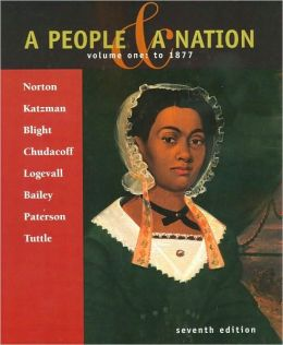 A People and a Nation, Volume 1: To 1877