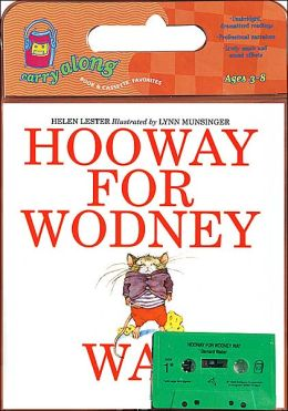 Hooway for Wodney Wat Book & Cassette
