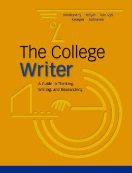 The College Writer: A Guide to Thinking, Writing, and Researching, MLA Update