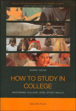 How to Study in College: Mastering College Level Study Skills