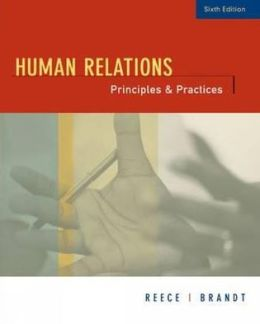 Human Relations: Principles and Practices