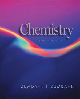 Student Solutions Manual for Zumdahl/Zumdahl's Chemistry, 7th