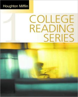 Houghton Mifflin College Reading Series, Book 1