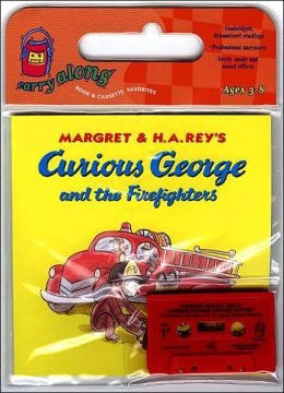 Curious George and the Firefighters Book & Cassette
