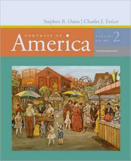 Portrait of America: Volume II: From 1865