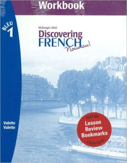 Discovering French Nouveau: Workbook with Lesson Review Bookmarks Level 1