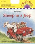 Product Image. Title: Sheep in a Jeep Book & CD