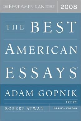 The Best American Essays 2008