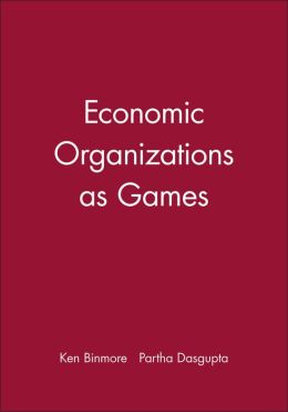 Economic Organizations as Games