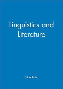 Linguistics and Literature