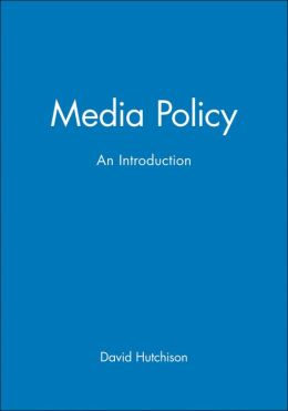Media Policy: An Introduction