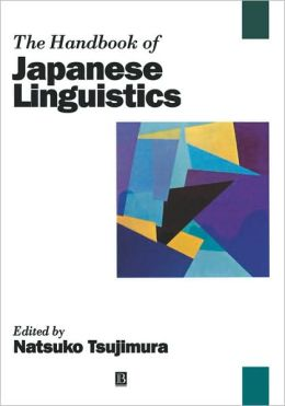 The Handbook of Japanese Linguistics