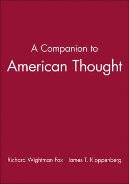 A Companion to American Thought