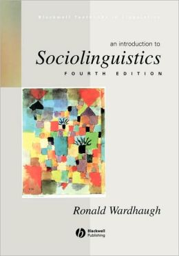Intro To Sociolinguistics 4e