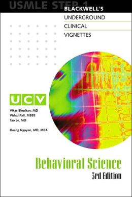 Blackwell's Underground Clinical Vignettes - Behavioral Science: USMLE Step 1