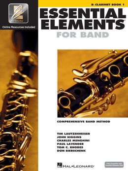 Essential Elements 2000 - Comprehensive Band Method - B Flat Clarinet, Book 1