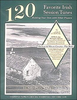 120 Favorite Irish Session Tunes - Level 2/3 (includes Music) 4 Cassettes