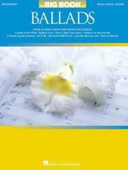 Big Book of Ballads - Piano/Vocal/Guitar