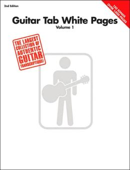 Guitar Tab White Pages - The Largest Collection of Authentic Guitar Transcriptions