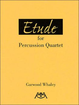 Etude for Percussion Quartet