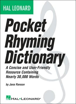 Hal Leonard Pocket Rhyming Dictionary
