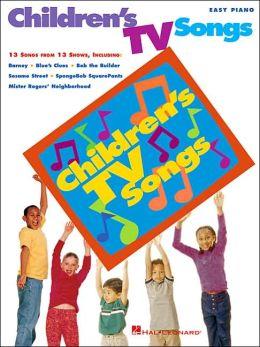 Children's TV Songs - Easy Piano