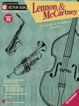 Lennon and McCartney: 10 Play Along Favorites for Bb, Eb and C Instruments (Jazz Play Along Series)