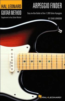 Arpeggio Finder: Easy-to-Use Guide to over 1,300 Guitar Arpeggios