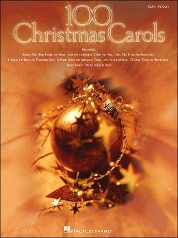 100 Christmas Carols - Easy Piano