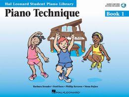 Piano Technique Book 1 - Book/CD Pack: Hal Leonard Student Piano Library