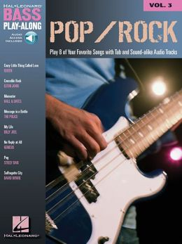 Pop/Rock Bass Play-along - Volume 3