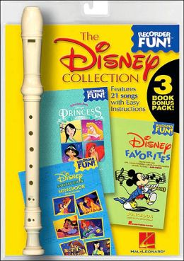 The Disney Collection: Recorder Fun! 3-Book Bonus Pack